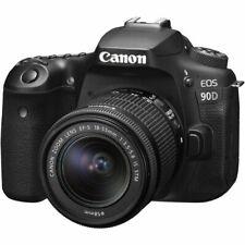 Canon EOS 90D 32.5MP Digital SLR Camera - Black (Kit with 18-55mm f/3.5-5.6...