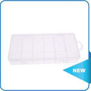 6 Compartments Fishing Lure Plastic Box Portable Kit Storage Case ✨