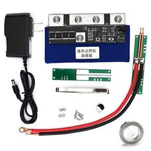 7.4V 400A DIY Mini Portable Spot Welder Soldering Machine Battery Pack Assembly