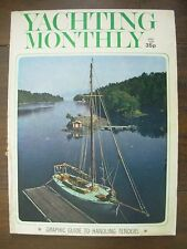 VINTAGE THE YACHTING MONTHLY MAGAZINE APRIL 1974