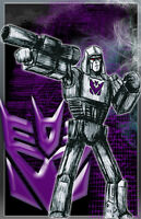 """Megatron Transformers """"The Decepticon Tyrant"""" 11 x 17 High Quality Poster"""