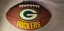 Green Bay Packers Ceramic/ Resin Football Plaque Wall Hanging
