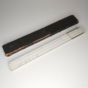 Vintage Albert Nestler 215544 Hardwood Slide Rule for Carl Zeiss Circa 1940s