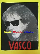 TOPPA patch VASCO ROSSI 37x32 cm (*) no cd dvd lp mc vhs live promo
