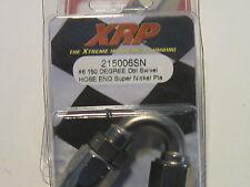 06AN  XRP 215006sn 150 Degree Tri Seal Hose End SUPER NICKLE