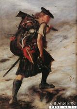 Scottish Military art print  Battle of Culloden Jacobite Highlander clansman