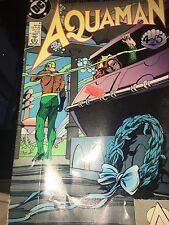 DC Comices - Green  Fleming Swan yet Aquaman Sept '89 SUPER FAST SHIPPING WORLD