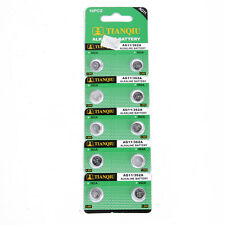 10pcs AG11 362A SR720 SR721SW LR721 SR58 362 361 Alkaline Button Cell Battery