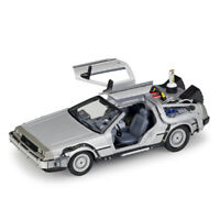 Welly 1:24 Back to The Future II/III Diecast Model Car