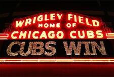 2016 WRIGLEY FIELD CHICAGO CUBS WIN FRIDGE MAGNET - NEW!
