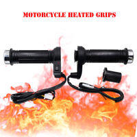 2 x Heizgriff Griffheizung Beheizt Griffe Warm für 12V Motorrad Schnelle Heizung