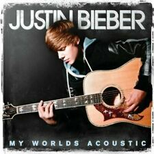 Bieber, Justin: My Worlds Acoustic (CD) W or W/O CASE EXPEDITED includes CASE