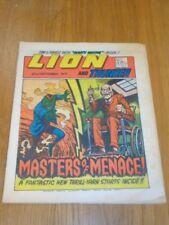 LION & THUNDER 22ND SEPTEMBER 1973 BRITISH WEEKLY COMIC FLEETWAY^