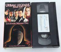 Urban Legends Final Cut VHS Tape  Horror Hart Bochner Home Video