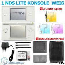 Nintendo DS Lite - Konsole #weiß + 3 NDS Gratis Spiele + NDS Starter Pack TOP!