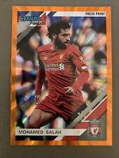 2019-20 Chronicles~Mohamed Salah~Donruss ORANGE LASER PRESS PROOF Liverpool 🔥