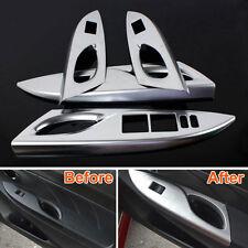 Interior Armrest Door Window Lift Switch Knob Panel Cover Trim For Yaris L 2014