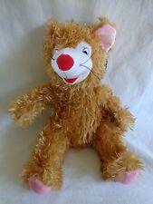 "Toymax XYZ Plush Mouse Rat Stuffed Animal 14"" Brown Pink"