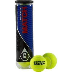 DUNLOP Match Tennisbälle4er PET Dose gelb 602230