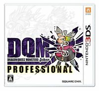 Nintendo 3DS Dragon Quest Monsters Joker 3 Professional DQM Japan F/S