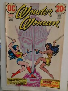 DC WONDER WOMAN #206 (1973) Origin of Nubia, Mars, Nick Cardy, Cary Bates