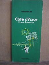 Michelin/ Côte d'Azur Haute-Provence/Michelin et Cie, propriétaires-éditeurs1975