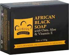 Nubian Heritage African Black Soap 5 oz