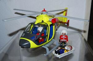 Playmobil Hubschrauber Bergrettung ähnlich 5428