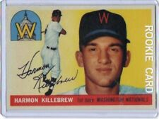 Harmon Killebrew 1956 Topps Rookie Reprint #124