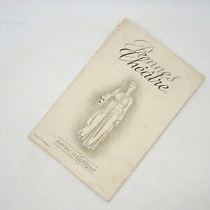 RENNES-THEATRE, revue artistique - Saison 1942 Programm Theater Mignon