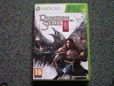 MICROSOFT XBOX 360  DUNGEON SIEGE III - 3 GAME - COMPLETE - VGC - SQUARE ENIX