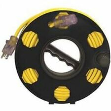 Reel Cord Storage Plastic Black (cored not included)