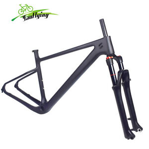 Carbon Frame mtb 29er Mountain Bike Frames Suspension Fork Frameset Disc Brake