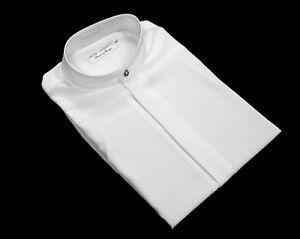 Mens Grandad Shirt Collarless Nehru Mandarin Style Peter Laurance Many Colours