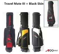 A99Golf Travel Mate Hybrid Carry On Travel Cover wheel airline travel golf bag