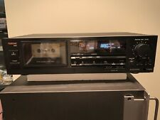 Tascam 102 Classic Cassette Deck, Recorder Player Works, Clean