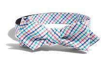 J Crew Factory - Mens - NWT - Havana Plaid Adjustable Self Tie Cotton Bow Tie