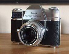 Kodak Retina Reflex iii 35mm slr, 2x lens, xenar 2.8/50 and 4/135