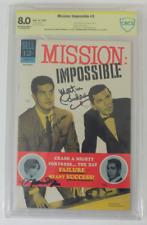 CBCS Graded 8.0,  Mission Impossible No. 3, 12/1967 Signed Martin Landau Plus 2