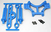 RPM 80165 Shock Tower w/Body Mount Blue Traxxas E-Maxx T-Maxx