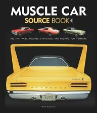 MUSCLE CAR SOURCE BOOK - MUELLER, MIKE - NEW HARDCOVER BOOK
