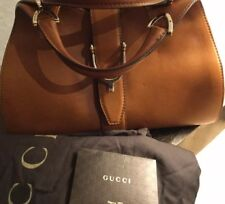 Authentic Gucci Tan Leather Tote Bag, Never Used,With Receipt, Dustbag, Packing.