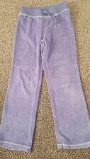 velvet purple trousers 7-8yrs f&f