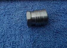 """STAINLESS STEEL 11.6MM FEMALE NOZZLE HOLDER QUICK RELEASE COUPLING X 1/4"""" FEMALE"""