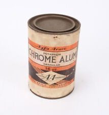 AGFA ANSCO POTASSIUM CHROME ALUM, SOLD FOR DISPLAY PURPOSES ONLY/209043