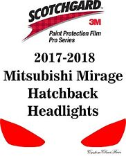 3M Scotchgard Paint Protection Pro Series 2017 2018 Mitsubishi Mirage Hatchback