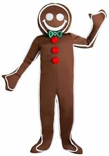 Men's Iced Gingerbread Man Costume