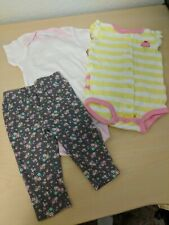 6 Months Baby Girl Lot Clothes 3 Piece Summer