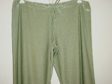 f2598c71c2 Victoria's Secret green silver shimmer pants yoga swim cover up sissy-S NEW