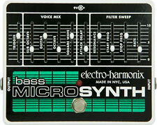 Electro-Harmonix Bass Micro Synthesizer pedal - free shipping